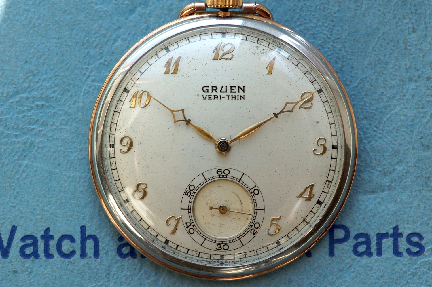 Gruen Veri-thin Pocket Watch